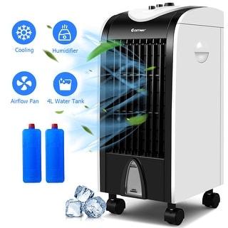 Costway Evaporative Portable Air Conditioner Cooler Fan Humidify