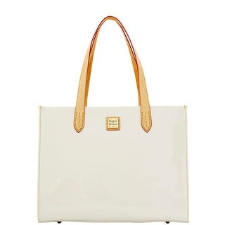 Dooney & Bourke Patent Shopper (Introduced by Dooney & Bourke at $198 in Mar 2016) - White