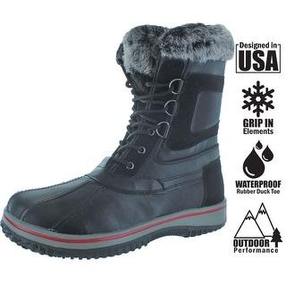 Revenant Men's Duck Toe Faux Fur Winter Snow Boots