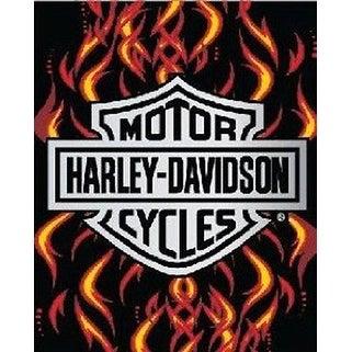 Licensed Harley Davidson Motor Cycles Bath Beach Towel 54X68 SOA