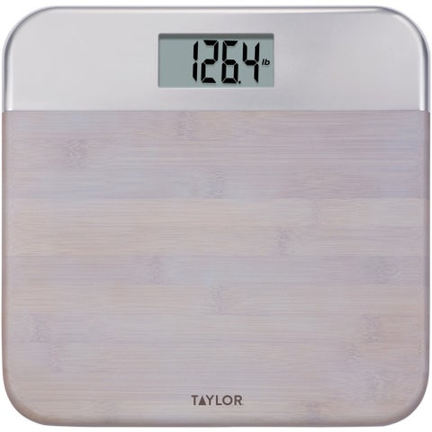Taylor(R) Precision Products - 86634242Nb - Bamboo Dgtl Scale Brn