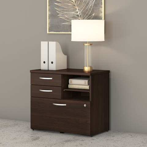 Studio C Storage Cabinet with Drawers by Bush Business Furniture