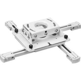 Chief Rpauw Universal Inverted Projector Ceiling Mount In White Color