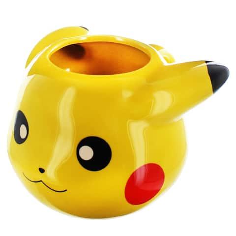 Pokemon Pikachu 16oz 3D Sculpted Mug - Multi