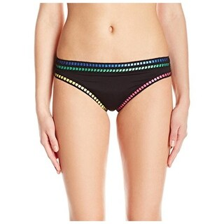La Blanca Womens Threading Along Colorblock Hipster Swim Bottom Separates