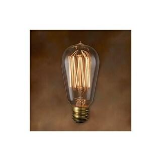 Bulbrite 136019 Pack of (4) 60 Watt Dimmable ST18 Shaped Medium (E26) Base Incandescent Bulbs