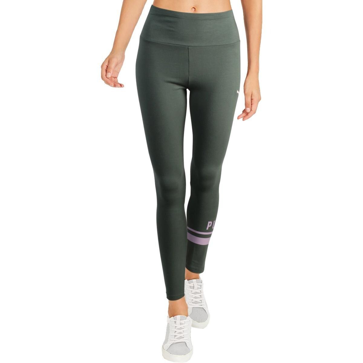 71494c3b1b8 Puma Womens Athletic Leggings Tight Fit Fitness
