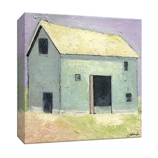 """PTM Images 9-146890  PTM Canvas Collection 12"""" x 12"""" - """"Barn I"""" Giclee Country Buildings Art Print on Canvas"""