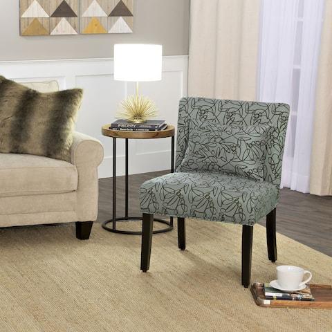 Porch & Den Alsea Accent Chair with Pillow