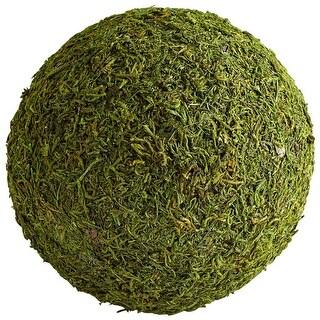 "Cyan Design Extra Large Bermuda Filler  10"" Diameter Bowl and Vase Filler - Green Moss"