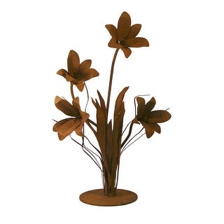 Patina Products S676 Large Lily Garden Sculpture - Emma