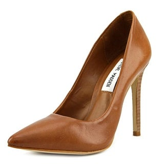 Steve Madden Proto Pointed Toe Leather Heels