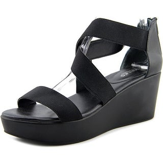 Charles By Charles David Joey Open Toe Canvas Wedge Sandal
