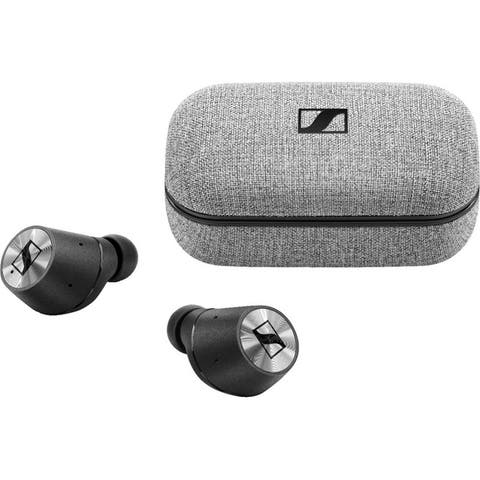 Sennheiser Momentum True Wireless Earbud Headphones - Silver/Black