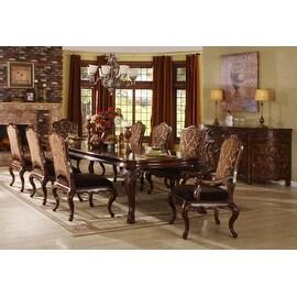 Palladio Rectangle Dining Table ( 2 * 20-3/8 Leaf) - Burgundy
