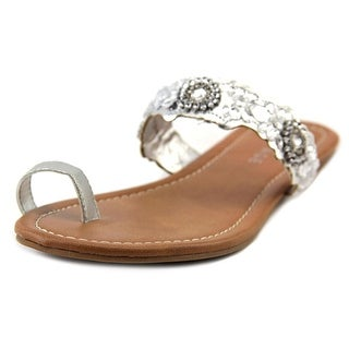 Rampage Railla Open Toe Synthetic Slides Sandal