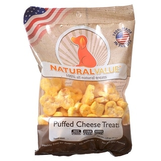 Link to Loving Pets Natural Value Puffed Cheese Treats 1.25 oz Similar Items in Dog Food & Treats
