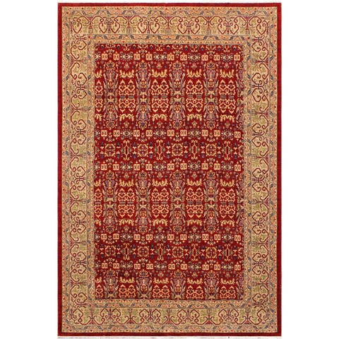 """Shabby Chic Ziegler Klara Hand Knotted Area Rug -9'0"""" x 12'0"""" - 9 ft. 0 in. X 12 ft. 0 in."""
