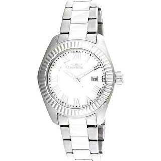 Invicta Women's Angel Silver Stainless-Steel Quartz Diving Watch