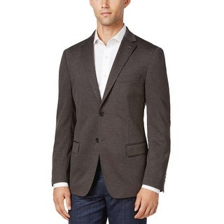 Ryan Seacrest Slim Fit Grey Soft Two Button Sportcoat 40 Regular 40R