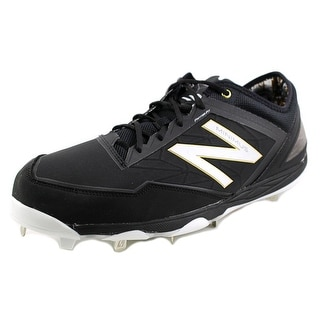 New Balance MBB 2E Round Toe Leather Cleats