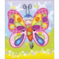 """6""""X7"""" - Fairytale Stamped Cross Stitch Kit"""