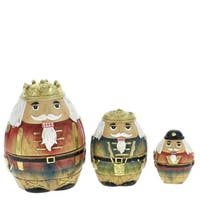 3 Piece Nesting Nutcracker