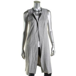 Kensie Womens Casual Vest Side Slit Sleeveless|https://ak1.ostkcdn.com/images/products/is/images/direct/6f73006bca27e711b2487e6409e3d50d59d36128/Kensie-Womens-Casual-Vest-Side-Slit-Sleeveless.jpg?impolicy=medium