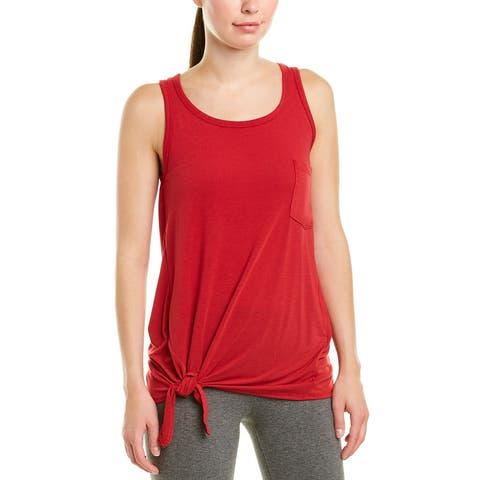 Nanette Lepore Twisted Tie Front Tank