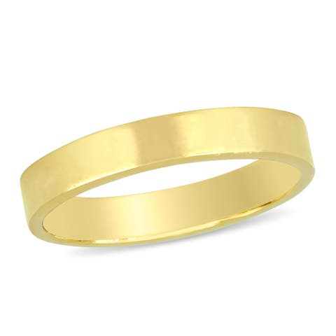 Miadora Ladies Comfort Fit Wedding Band in 14k Yellow Gold (3mm)