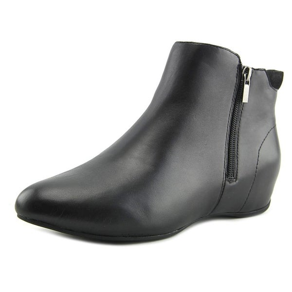 Rockport Emese Women Round Toe Leather Black Bootie