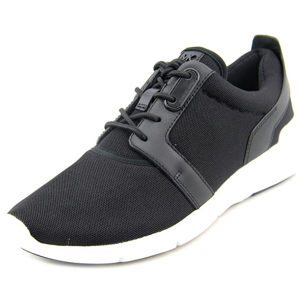 Michael Michael Kors Amanda Trainer Women Synthetic Black Fashion Sneakers