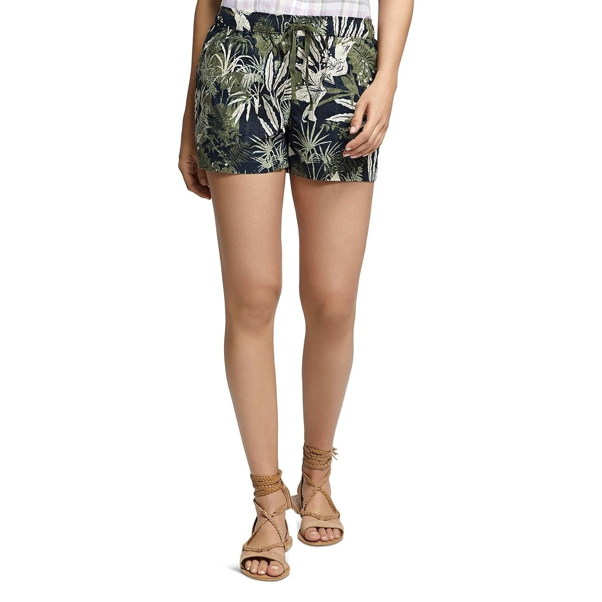 SANCTUARY Womens Black Cuffed Shorts 24 WAIST