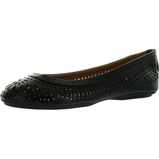 Luo Luo Womens Demi Black Ballet Flats