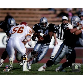 Rodney Hampton Rushing Nfl 8x10 Signed Photograph