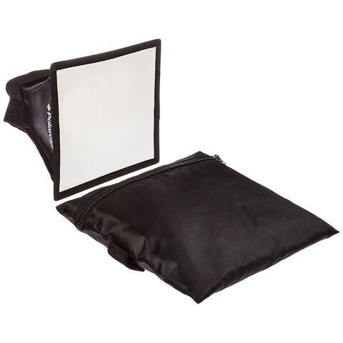 "Polaroid Universal Studio Soft Box Flash Diffuser (7"" x 6"" Screen)"