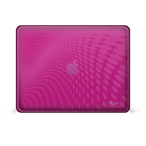 Flexi-Clear Wave Pattern Flexible Case Cover for iPad 1G