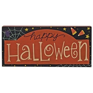 Happy Halloween Wood Sign for Halloween