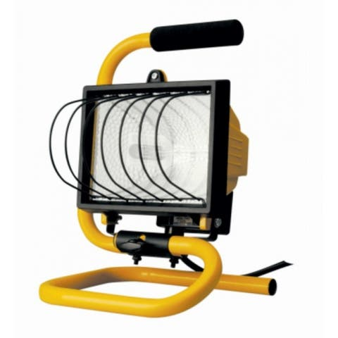 Woods L20TV Portable Halogen Work Light, 500 Watt