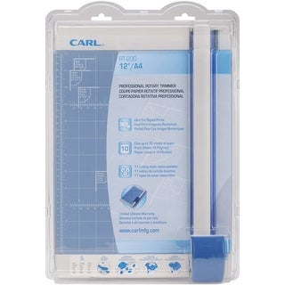 """Carl Professional Rotary Trimmer 12""""- - Blue"""