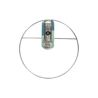 "Pepperell Designer Ring 12"" with Cross Bar"