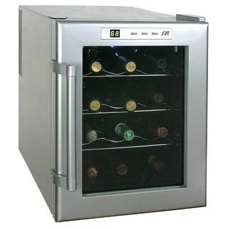 Sunpentown WC-12 Wine Cooler - Silver