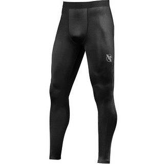 Hayabusa Lightweight Durable MMA Compression Spats - Black