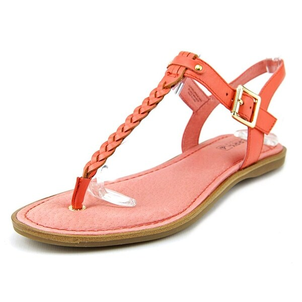 Sperry Top Sider Virginia Women  Open Toe Leather Pink Thong Sandal