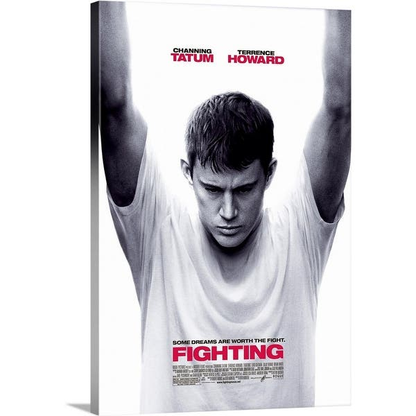 Shop Fighting Movie Poster Uk Canvas Wall Art Overstock 24128412