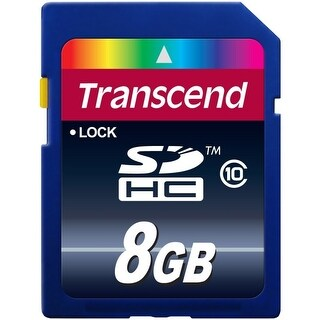 Transcend 8GB Class 10 SDHC Card (TS8GSDHC10)