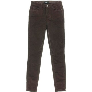 Paige Womens Hoxton Corduroy Stretch Skinny Pants