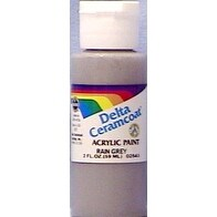 Rain Grey - Opaque - Ceramcoat Acrylic Paint 2Oz