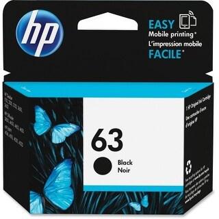 HP 63 BLACK INK CARTRIDGE Ink Cartridge