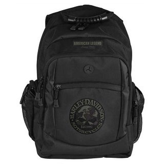 "Harley-Davidson 3D Willie G Skull Classic Camo Backpack, Black BP3025S-CAMBLK - 12"" x 17.75"" x 7"""